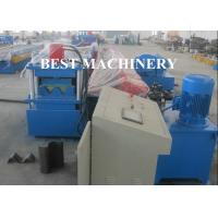 China 2 / 3 Beam Exprpessway Rail Guardrail Forming Machine 3mm - 5mm Galavnized wholesale