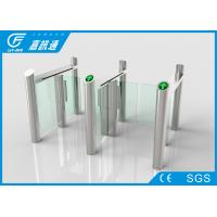 Buy cheap React Quickly Stainless Steel Turnstiles Bi - Direction System Long Service Life from wholesalers