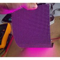 China IP45 P4mm RGB flexible led video screen , flexible wall panels Cree Chip wholesale