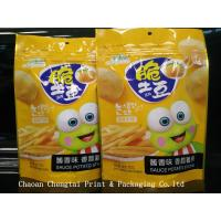 China Food Grade Snack Packaging Bags with Ziplock for Tomato Chips on sale