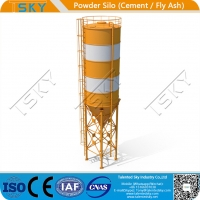 China ISO Industrial Cement Lime Fly Ash 500T Powder Silo wholesale