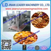 China full Automatic stainless steel peanut roaster machine for roasting grain/nut/seed/bean wholesale