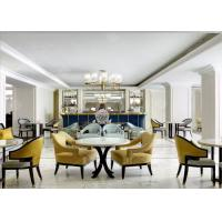 China Fabric Sectional Lobby Seating Furniture , Modern Reception Commercial Lobby Furniture wholesale
