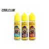 China Great Taste E - Cig Liquid 60ML Cush Man With Banana Grape Flaver wholesale