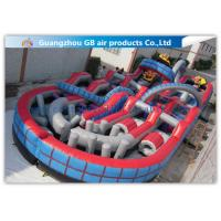 China Giant Inflatable Amusement Park With Large Roller Coaster for Activities Entertainment wholesale