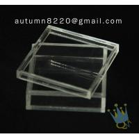 China BO (105) acrylic counter top display cases wholesale