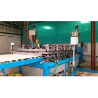 China PE / PP Sheet Plastic Plate Extrusion Line , Single Screw Extruder Machine wholesale