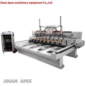 China Jinan cnc router expert gold supplier multi heads cnc engraving machine/3d wood cnc router wholesale