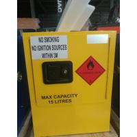 China Mini Steel Flame Proof Safety Storage Cabinets With Single Door wholesale