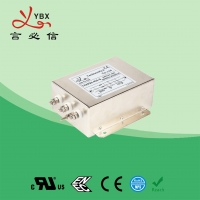 Buy cheap 380V 440V 30A 40A 3 Phase EMC Filter AC Line Filter For Converter from wholesalers