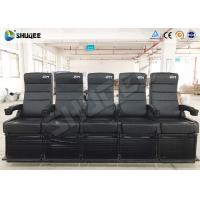 China Luxury Motion Chair 5 Seats 4D Cinema System With Spray Air / Vibration wholesale