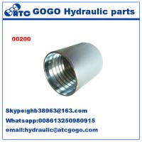 China Sae 100 R2AT/EN 853 2SN Stainless Quick Connect Fittings , Quick Connect Connector on sale