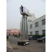 China 10m  Four Mast Truck Mounted Lift Platform For Continuous Aerial Working wholesale