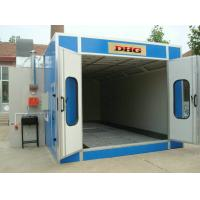Quality Outdoor Down Draft Car Spray Booth , Industrial Spray Painting Booths for sale