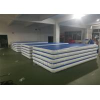 China Custom Drop Stitch Material Inflatable Air Track For Sport Train wholesale
