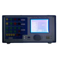 China 3 Phase Relay Protection Tester / Secondary Current Injection Test Set wholesale