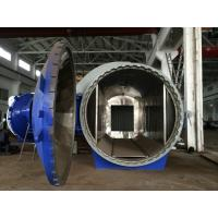 China Horizontal High Pressure Composite Autoclave Pressure Vessel Of Aircraft Making wholesale