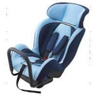 China Portable Child Safety Car Seats With Adjustable Headrest / Fabric + Sponge wholesale