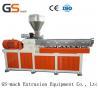 China Parallel Twin Screw Extruder Filler Masterbatch Machine 12 Months Warranty wholesale