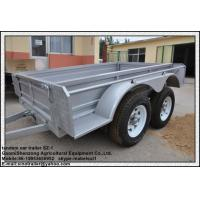 China box trailer tandem car tipping trailer cage trailer wholesale