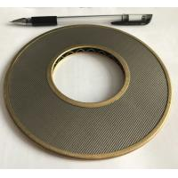 China 100 Micron 304 316 Stainless Steel Wire Mesh Filter Element 152mm Diameter wholesale