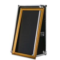 Digital 55 Inch Magic Photo Booth , Mirror Me Photobooth With Flight Case