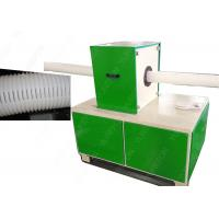 China Corrugated Pipe Notching Plastic Processing Machinery Full Automatic CE Certification wholesale