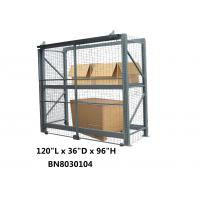 """China Safeguard Products Pallet Rack Security Enclosure 120"""" Long 36"""" Deep Powder Coated wholesale"""