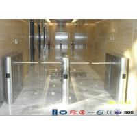 Quality Drop Arm Turnstile Waterproof Drop Arm Gate 26 Two Door Two Way Assemble Access for sale