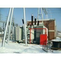 China 132kV 12.5MVA Single Phase Power Transformer Oil Immersed , Core Type on sale