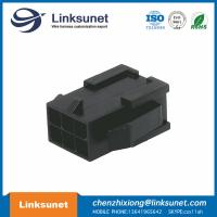 China Male Female Wire Connectors 43020 - 0600 MOLEX Micro Fit Connector With Panel Mount Ears wholesale