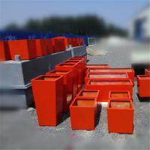 China Decor fiberglass planter wholesale