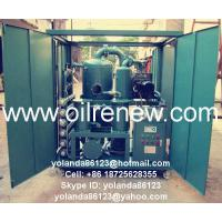 China Weather Proof Vacuum Transformer Oil Filtration System | Insulating Fluids Purifier ZYD-W on sale