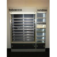 China Custom POP Merchandise Displays Floor Stand Led Lighting Cigarette Display Stand wholesale