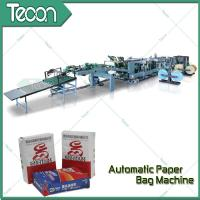 Quality Professional 2-5 Ply of Kraft Paper Bag Making Machines With Big Production Plant for sale