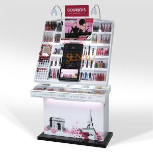 China POS Display Stands Retail Cosmetic Makeup Organizer Full Set Custom wholesale