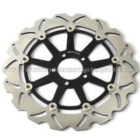 China CNC Anodized Motorcycle Brake Disc Brakes And Rotors for Kawasaki ZX9R ZZR 1100 wholesale