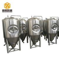 China Large Beer Fermentation Tanks 4 Stainless Steel Legs With Leveling Foot Pads wholesale