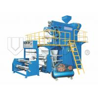 China Rotational Die PP/ HDPE / LDPE Film Blowing Machine With Bottom Blowing Type wholesale
