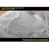 China Testosterone Acetate Powder / Test Acetate Cas 1045-69-8 For Pharmaceutical Material wholesale