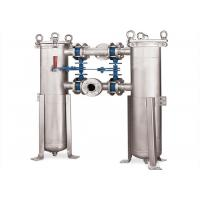 China Multipurpose SS Micron Filter Housing , Liquid Bag Filter Housings Water Filter System on sale