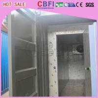 China Prefabricated Insulated Cold Storage Containers / 40 Feet Cold Room Containers wholesale