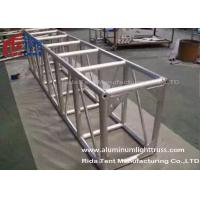 China Light Weight Aluminum Stage Truss , Square Lighting Truss Bar For Rental Event on sale