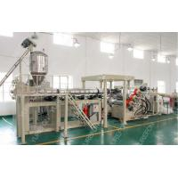 China Stable Output Plastic Sheet Extrusion Line For Thermoforming Transparent PP PS PET wholesale