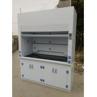 China 1800 width Laboratory Furniture Safe Ductless Fume Hood Exhuasted System CE / ISO wholesale