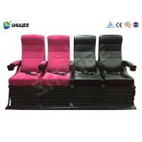 China Electric 4D Movie Theater Motion Chair With Special Effect System 1 Year Warranty wholesale
