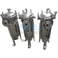 Quality High Flow Rate Bag Filter System Industrial Grade Series Single Bag Cartridge Filters In Water System for sale