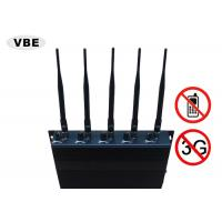 Power Adjustable Cell Phone Signal Jammer High Security Relative Humility ≤90%