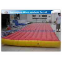 China Red Interactive Inflatable Sports Games Air Mattress For Gym Bungee Jumping wholesale