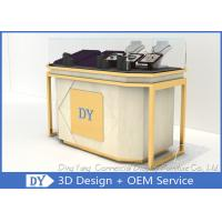 Buy cheap Lockable Retail Jewelry Store Jewelry Display Counter With OEM Logo from wholesalers